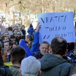 Under våren 2014 demonstrerade tusentals människor i Bosnien och Hercegovina mot korruption och mot statsapparatens ineffektivitet. Foto: Thomas Edin