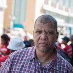 Trevor Christians, generalsekreterare för sydafrikanska fackförbundet CSAAWU som bland annat organiserar vinarbetare