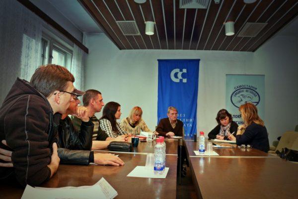Projektet Lokala fackliga förändringsledare, Serbien Foto Vladimir Milovanović