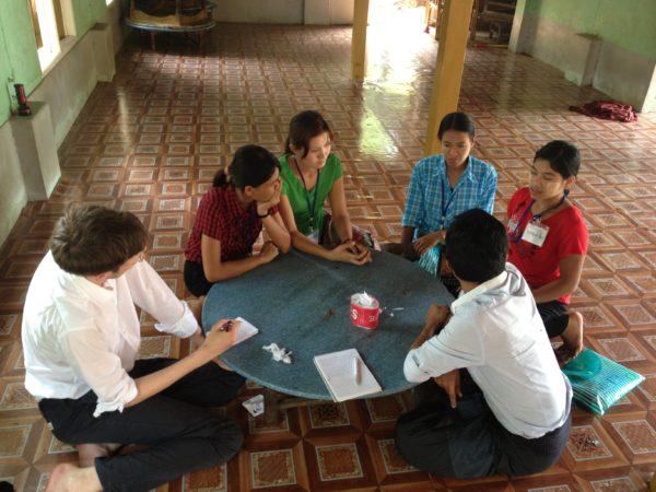 Utbildning i fackliga rättigheter 2013. Foto: Palmecentret