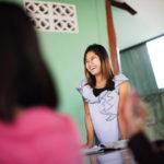 Ni Ni Kyaw arbetar för YNS i Mae Sot, Thailand. Foto: Sara Kollberg