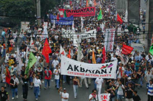 Filippinerna demonstration