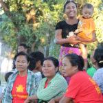 Aktivister från DPNS i Mandaly, Burma.