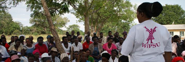 WIPSU arbetar för kvinnors rättigheter i Zimbabwe