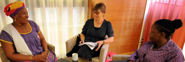 Network afrikanska politiker Foto: Linda Håkansson