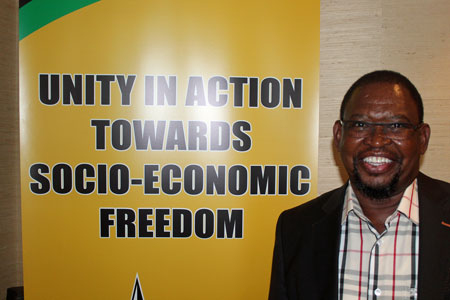 Sydafrika: Enoch Godongwana