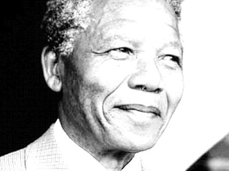 Sydafrika FreeVector-Nelson-Mandela-P