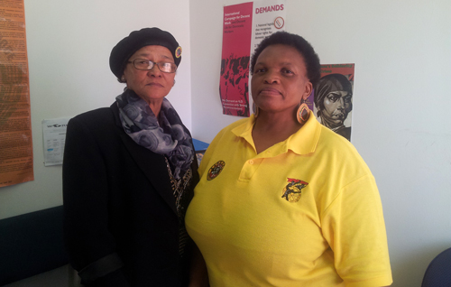 Sydafrika: Margie Marman och Sindiswa Ningiza