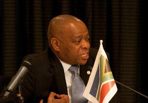 Sydafrika: Molefe Samuel, ANC
