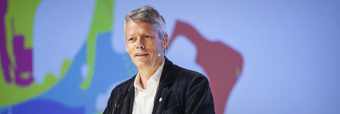 Jens Orback på Kommunals kongress 2013