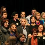 Syrien womens network vid bildandet i Stockholm