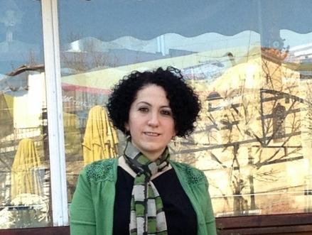 Noura AlJizawi, medlem i SWN Foto: Hivin Kako