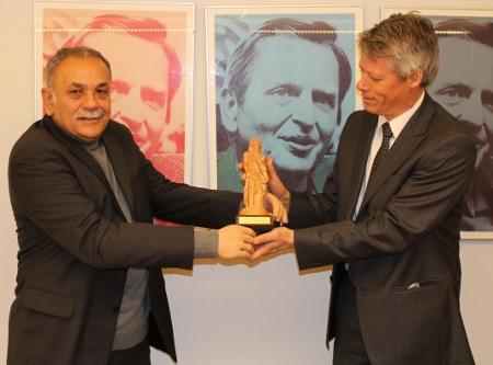Fria människor-priset till Palmecentret i Turkiet