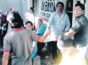 Akbayan, relief operation f