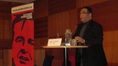 Dr Shaddad Attili. Foto: Ekim Caglar