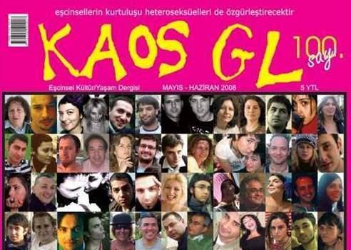 KAOS GL nummer 100. Maj 2008