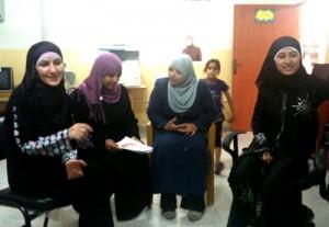 Kvinnoföreningen Beit Sira Young Women Center. Foto: Victor Åström