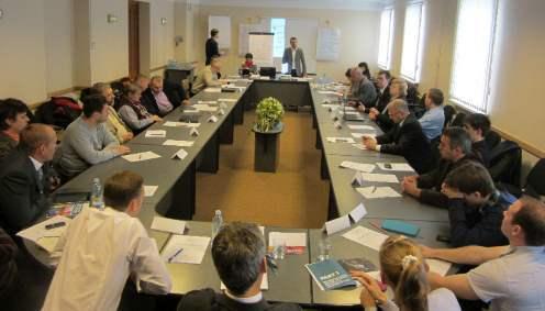 Seminar St Petersburg 5 okt 2012