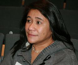 Arline Santos. Foto: Palmecentret