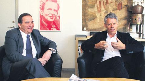 Stefan Löfven & Jens Orback