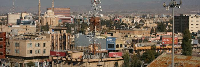 Erbil i irakiska Kurdistan. Foto: Martin Karlsson