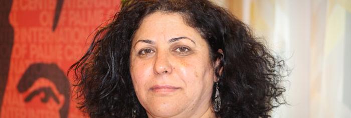Fadwa Khawaja, Fatah. Foto: Palmecentret