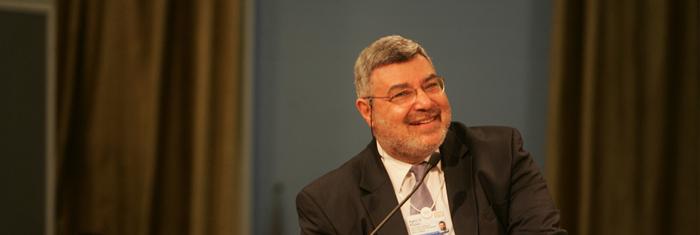 Rami Khouri. Foto: Nader Daoud/World Economic Forum