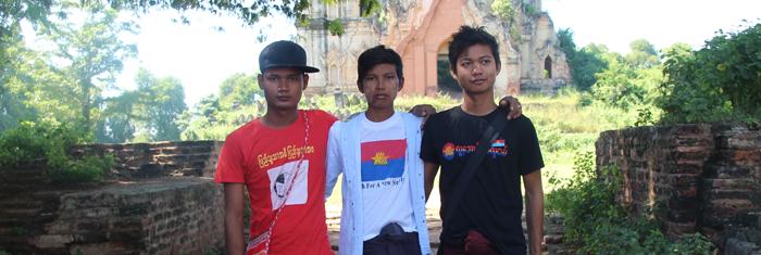 Aktivister från YNS. Foto: Palmecentret.
