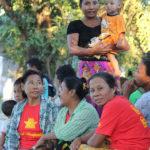 Aktivister från DPNS. Foto: Palmecentret