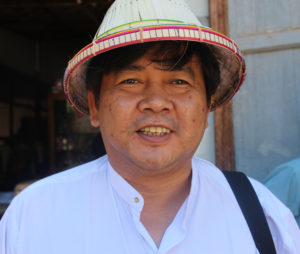 Aung Moe Saw. Foto: Palmecentret