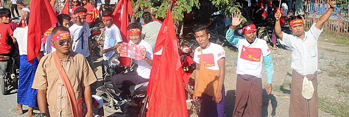 NLD-aktivister. Foto: Palmecentret