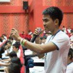 Ungdomsparlamentet i Kambodja diskuterar behovet av en alkohollag. Fotograf: Pierre Andersson