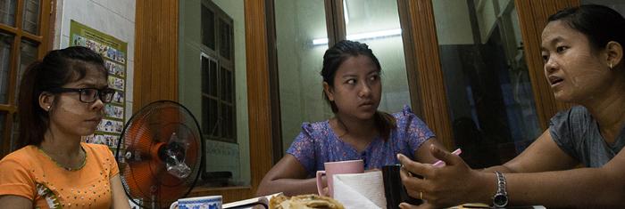 BWU i Burma. Foto: Axel Kronholm