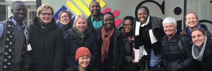 Ansvariga för programmet i Sverige och Afrika samlades i Stockholm för planeringsdagar. Foto: Jonas Andersson.