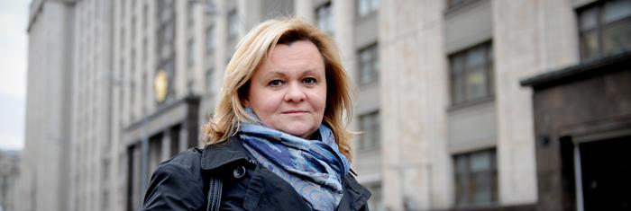 Marina Pisklakova-Parker. Foto Maria Söderberg