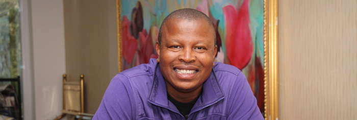 George Mthethwe. Foto: Ylva Säfvelin