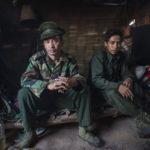KIA Mobile Brigade, Myanmar 20180124. Naw San och Aung Lat från Kachin Independence Army, i sitt hem på utposten. Photo: Vilhelm Stokstad / Kontinent